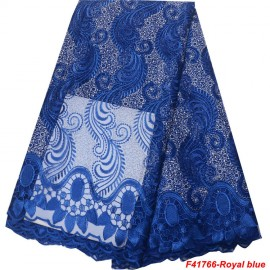 F41766-Royal blue+Silver